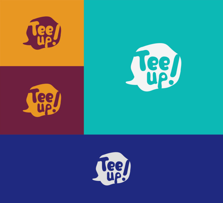 Tee Up - Design de Logotipo