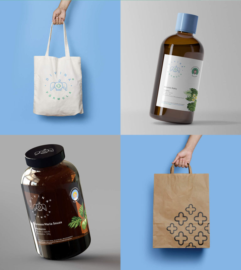 Divina Fórmula - Design de Embalagem