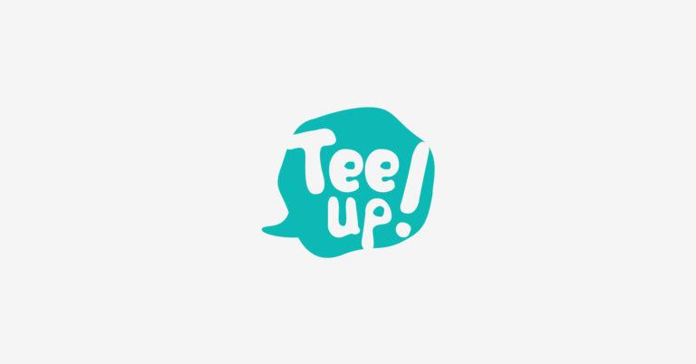 Tee Up - Design de Logotipo