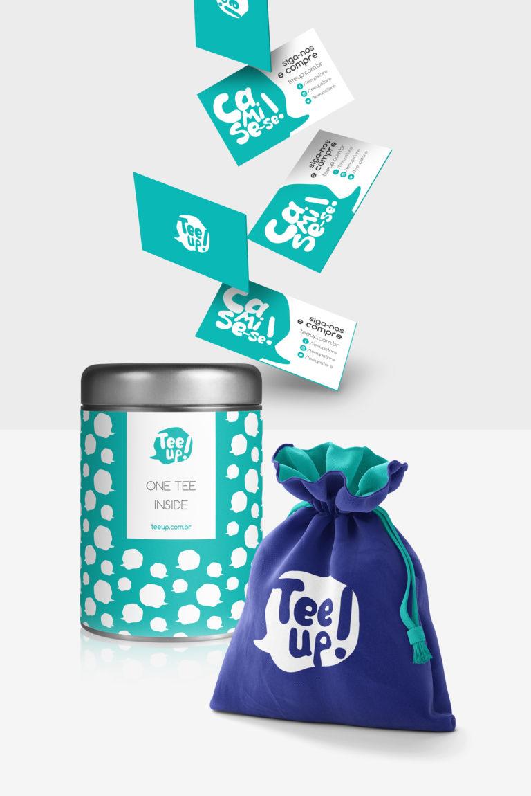 Tee Up - Design de Embalagem