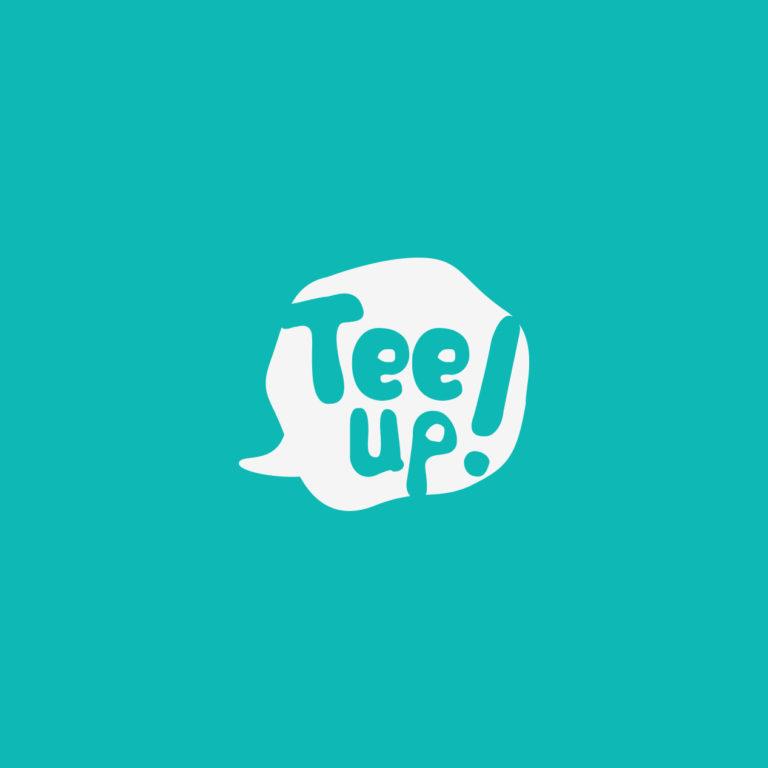 Tee up - Logotipo de Camisetas