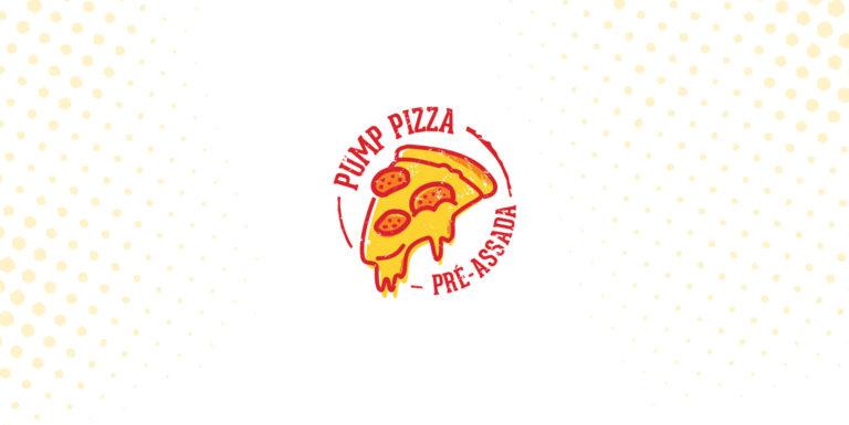 Pump Pizza - Design de logotipo