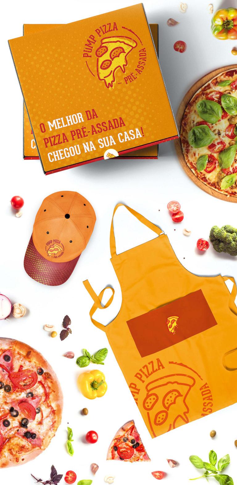 Pump Pizza - Design de embalagens