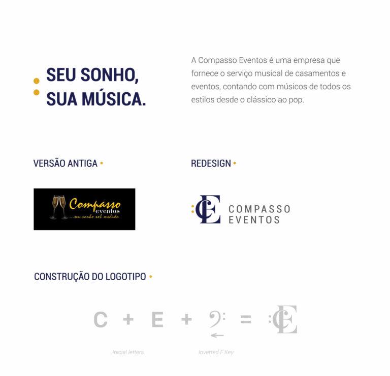 Compasso Eventos - Design de logotipo