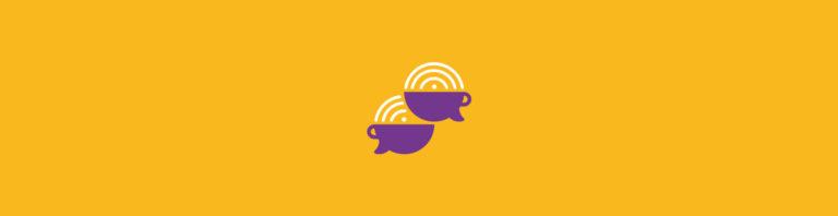 Podcast Café com Leite - Logotipo de Podcast